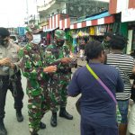 Sinergitas TNI – Polri Terus Upaya Guna Memutus Mata Rantai Covid -19 di Mimika
