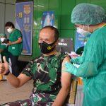 Pangdam XVII Cenderawasih Terima Vaksin Covid – 19 Tahap Pertama di Provinsi Papua