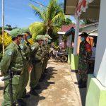 Sinergitas TNI – Polri Tingkatkan Kedisiplinan Anggota Linmas