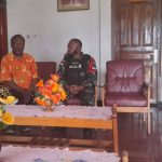 Satgas Yonif RK 751 Kunjungi Kantor Klasis Gereja Kingmi Jalin Kebersamaan