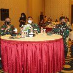 Kasrem 174/ATW Hadiri Acara Dialog Pangkoopsau III Dengan Tokoh MasyarakatPapua